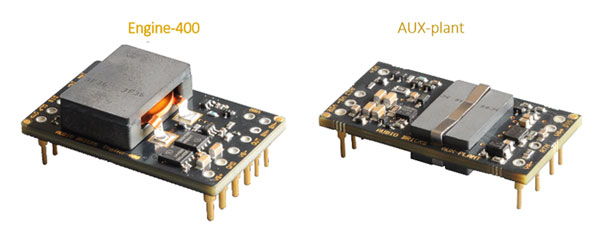 Audio Blocks Engine-400 and AUX-plant modules