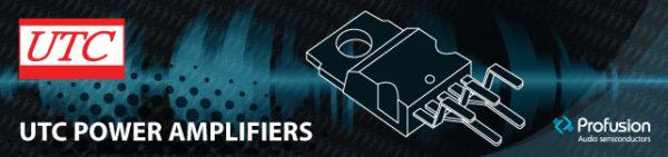 UTC Single Channel Amplifier Chips